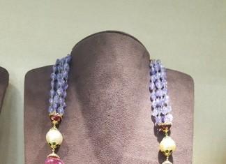 Gold Bold Beads Mala