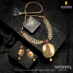 Gold Designer Necklace from Kalyan Jewellers