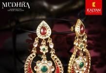Gold Chandbali Earrings from Kalyan Jewellers