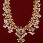 Gold Guttapusalu Necklace from P.Sathyanaranayan & Sons