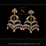 Gold Indian Designer Earrings