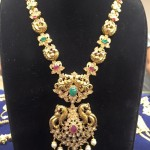 Gold Pachi Haram Designs