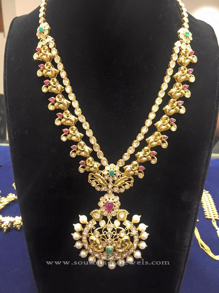 Latest Model Gold Pachi Necklace