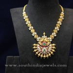 Indian Antique Jewellery Necklace Design