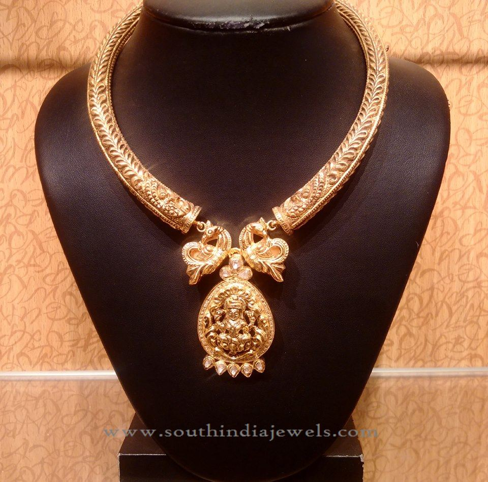 Indian Gold Antique Necklace from NAJ