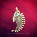 Gold Puligoru Pendant  Design