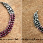 Antique Indian Silver Jewellery Necklace