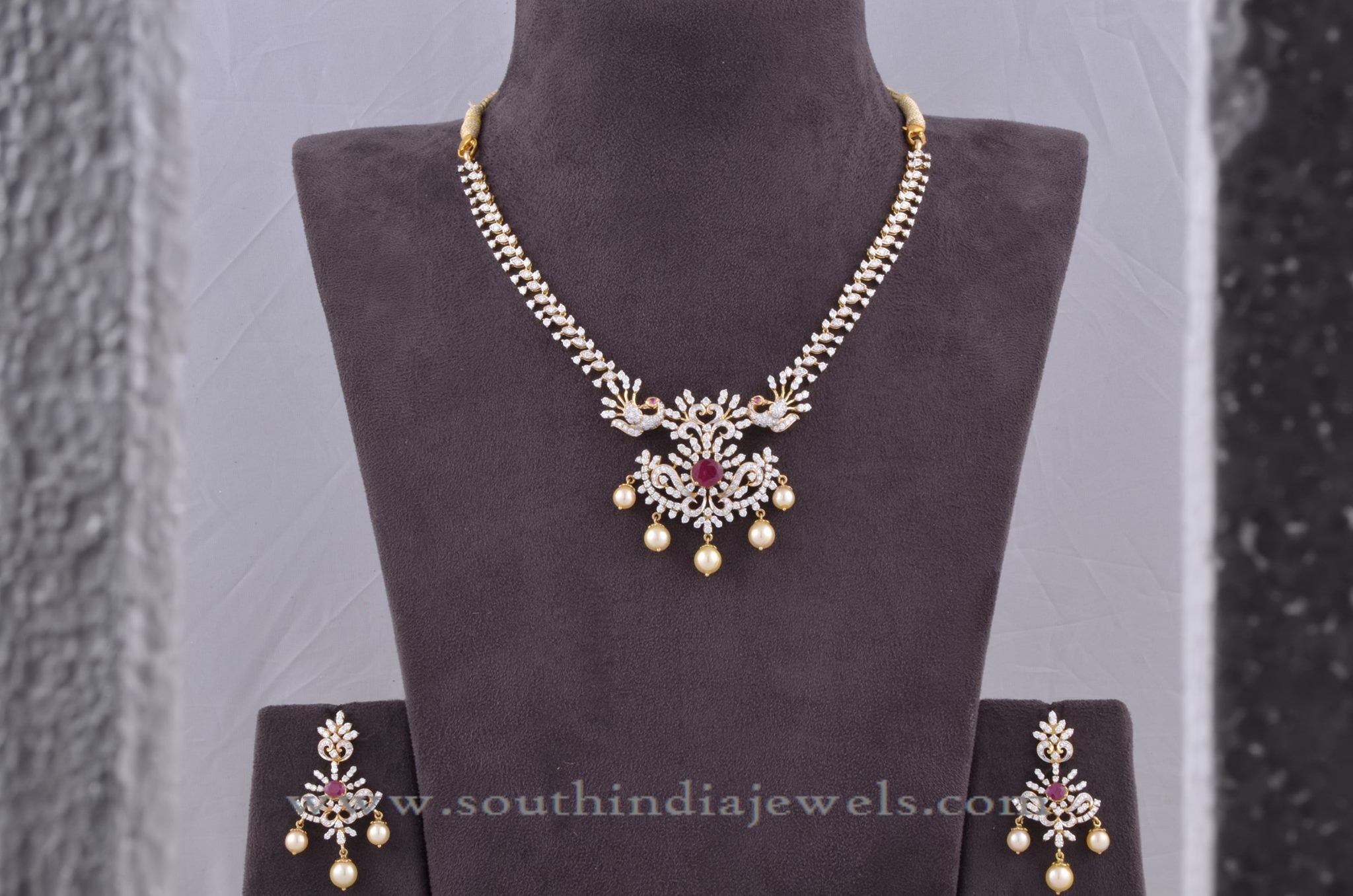 designs gold traditional emeralds simple with necklace jewellery