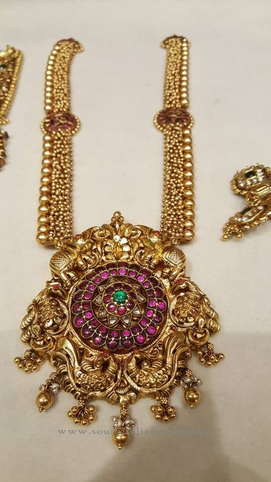collection necklace watch gold designs catalogue latest indian jewellery youtube