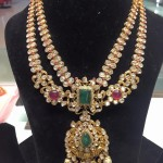 Layered Gold Pachi Necklace Design