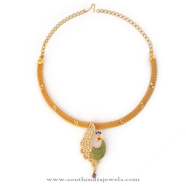 32 Grams Gold Necklace from Bhima Jewellers