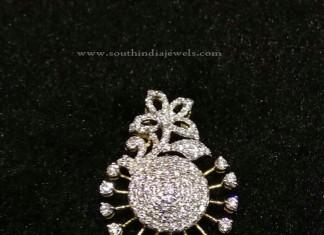 Diamond Peacock Pendant Design