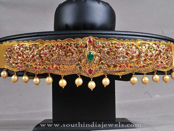 Fancy Gold Vadanam Designs