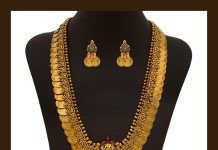 Gold Bridal Kasumalai Necklace from VBJ