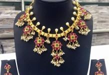 Gold Plated Guttapusalu from Swarnakshi