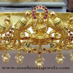 Gold Plated Lakshmi Hip Belt
