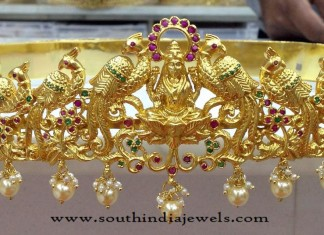 Gold Plated Lakshmi Hip Belt Models