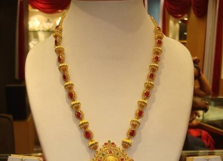 22K Gold Coral Necklace Design