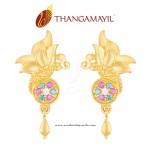 Stylish Gold Earrings