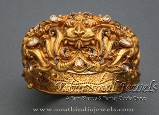 Gold Heavy Kada Design