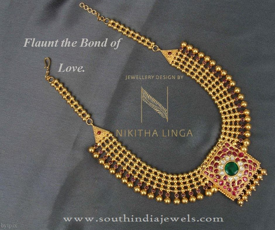 Gold-necklace under 1 lakh