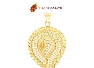 Gold Pendant for Girls