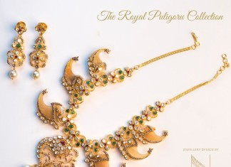 Gold Puligore Necklace