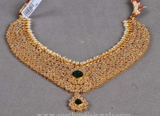 Gold Statement Necklace Designs