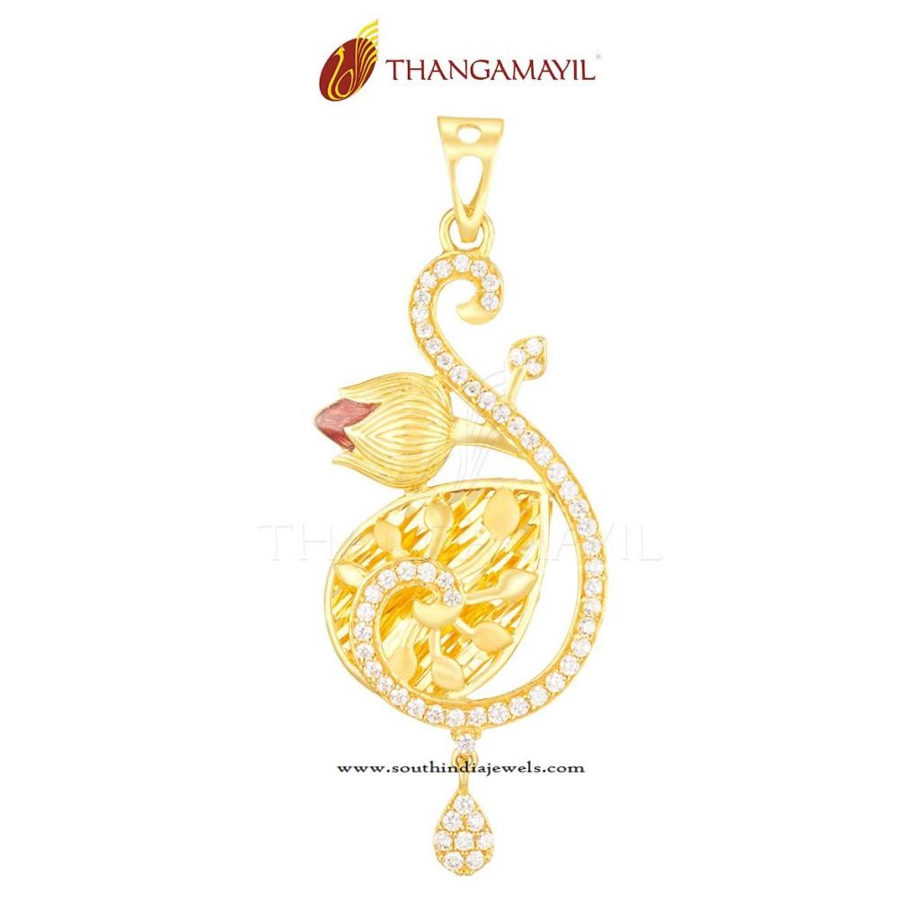 Indian Gold Pendant Designs