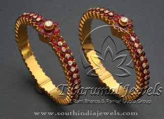 Indian Gold Antique Jewellery Bangle