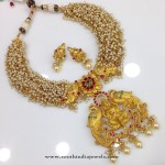 One Gram Gold Lakshmi Necklace