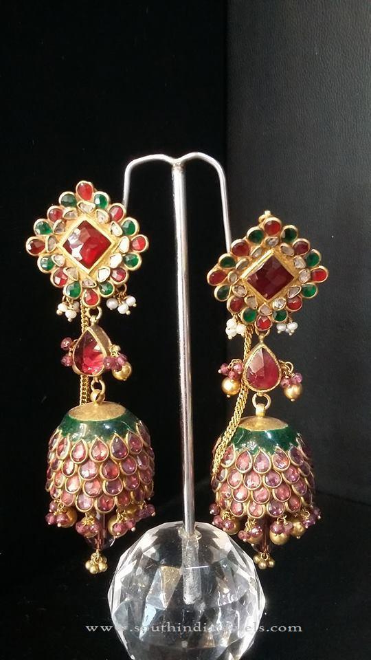 Latest Indian Jhumka Design