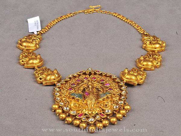 Latest Model Temple Necklace 2016