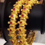 One Gram Gold Ruby Bangles