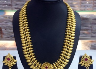 One Gram Gold Bridal Haram Design