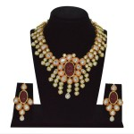 One Gram Gold Kundan Necklace Design