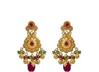 South Indian Gold Earrings Designs