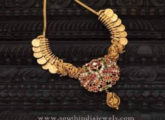 Traditional Gold Coin Necklace from Mor Jewellers