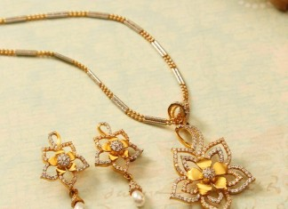 Latest Model Gold Chain Pendant Sets