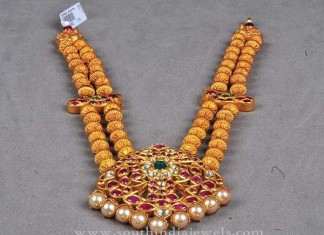 Gold Haram Designs in Andrapradesh