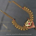 Gold Short Necklace Pattern