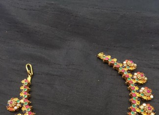 Navarathna Choker Necklace from Big Shop