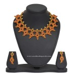 1 Gm Gold Kemp Necklace and Earrings