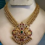 Beautiful Antique Gold Necklace Design