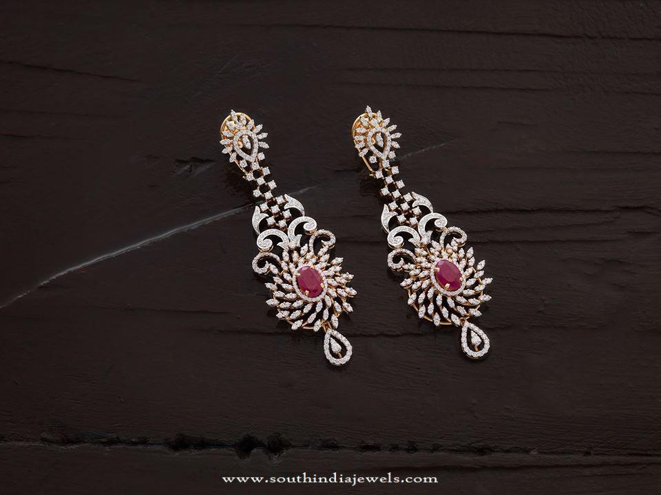 Designer Diamond Earrings 2017