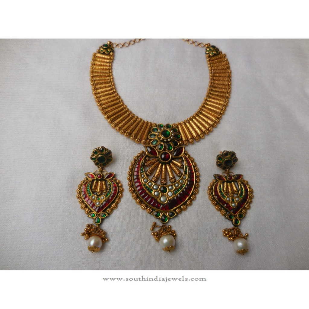 Designer Necklace with Earrings from Arnav