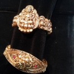 Gold Antique Bangle Designs