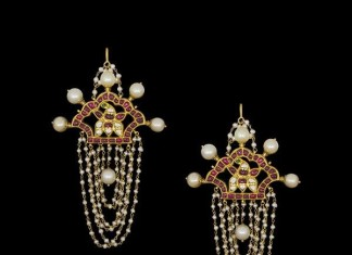 Gold Designer Earrings Hyderabad