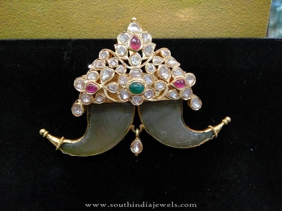 Latest Model gold Puligoru Pendant Designs