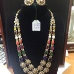 Gold Gemstone Haram Design